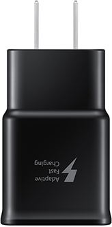 Samsung Fast Charge Wall Adapter Front View