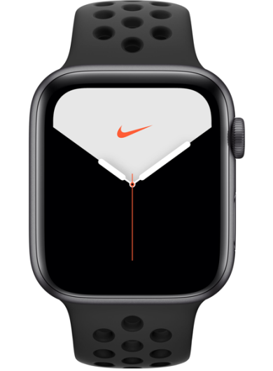 Apple Watch Nike Series 5 44MM Space Grey Aluminum Case with Anthracite Black Sport Band
