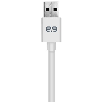 White PureGear Charge and Sync Cable for Apple Lightning Devices (6ft)