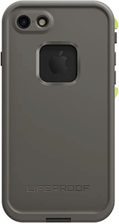 Dark Grey/Slate Grey/Lime LifeProof FRĒ iPhone 7 Case Back View