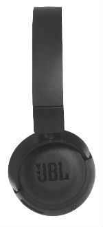 Black T450 On-Ear Wireless Headphones Side View