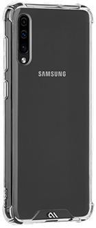 Angled Case-Mate Tough Clear Galaxy A50 Case Back