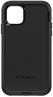 Black OtterBox iPhone 11 Pro Max Defender Case Back