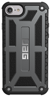 Graphite UAG Monarch - iPhone 6/6s/7/8 Case Back View