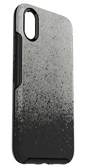 Ashed for It OtterBox iPhone X/Xs Symmetry Case Angled View