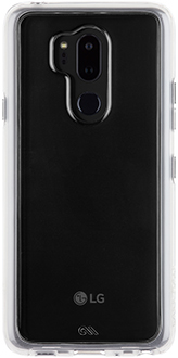 Clear Case-Mate Naked Tough LG G7 Case Back