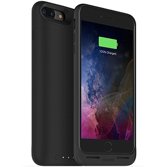 Black Mophie Juice Pack Air - Apple iPhone 7 Plus 3