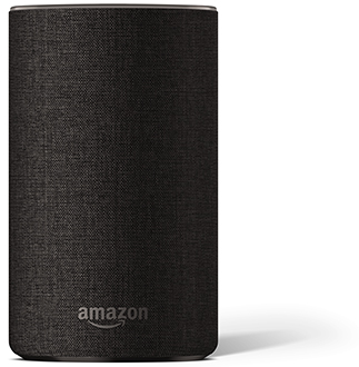 Charcoal Amazon Echo Front View