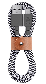 Zebra Native Union BELT Cable Micro-USB - Front View