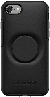 Black Otter + Pop Symmetry iPhone 7/8 Case Back