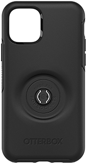 Black Otter + Pop Defender iPhone 11 Pro Case with Pop Top Removed