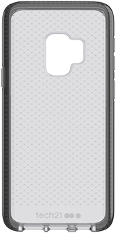 Black tech21 Evo Check Galaxy S9 Case Back