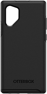 Black OtterBox Galaxy Note10+ Symmetry Case Back