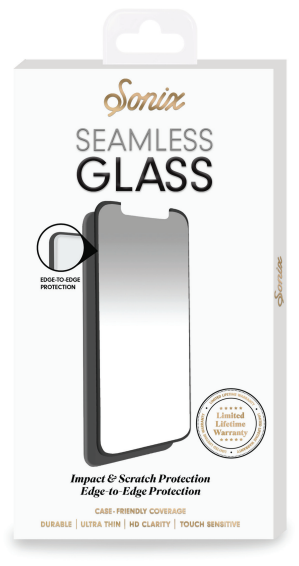 Clear Sonix Glass Seamless - iPhone X Screen Protector