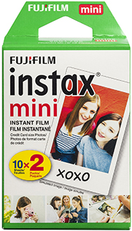 Boxed FUJIFILM Instax Mini Film Twin Pack