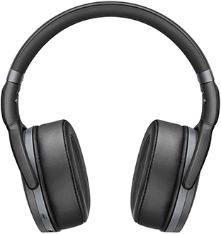 Black Sennheiser HD 4.4 BT Headphones Front View