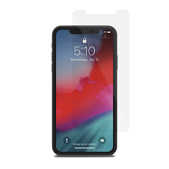 Clear Moshi Airfoil Glass - iPhone XR Screen Protector Front View