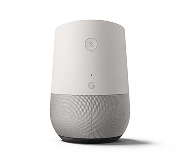 Google Home Back View