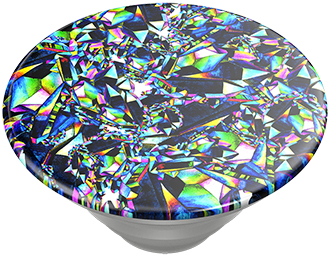 Angled PopSockets Facet Gloss PopTop Expanded