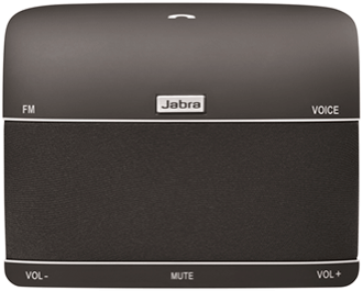 Black Jabra Freeway Speakerphone Front View
