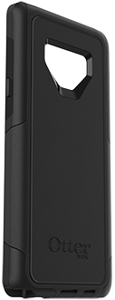 Angled Black OtterBox Galaxy Note9 Defender Case