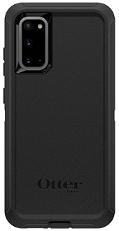Black OtterBox Galaxy S20 5G Defender Case Back