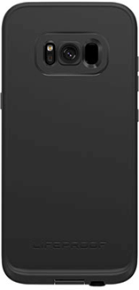 Black/Dark Grey LifeProof FRĒ Galaxy S8 Case Back View
