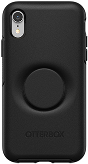 Black Otter + Pop Symmetry iPhone XR Case Back