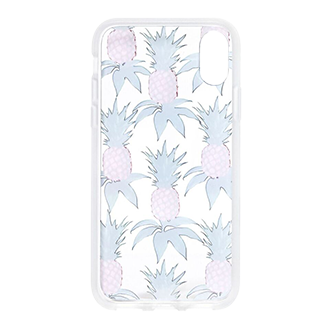 Pink Pineapple Sonix Clear Coat iPhone XR Case Front