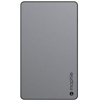 Space Grey Mophie Powerstation (6,000mAh) - Front View