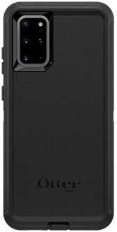 Black OtterBox Galaxy S20+ 5G Defender Case Back
