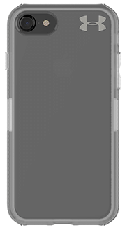 Clear Under Armour Protect Verge - iPhone 7/8 Case Back View