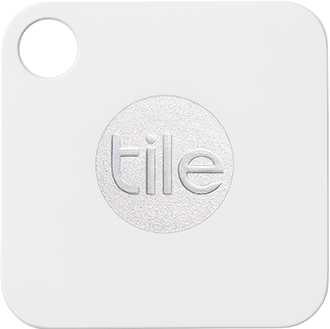 White Tile Mate Front View
