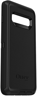 Black OtterBox Galaxy S10 Defender Case Angled View