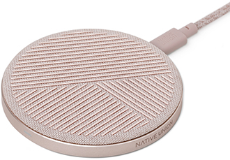 Angled Rose Native Union DROP Wireless Charger