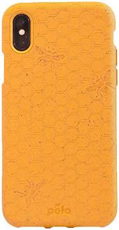 Honey Bee Pela iPhone Xs Case Back
