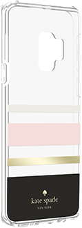Angled Charlotte Stripe kate spade Galaxy S9 Hardshell Case