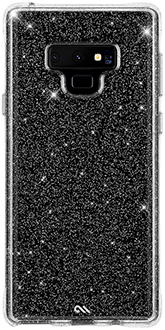 Glitter Case-Mate Sheer Crystal Galaxy Note9 Case Back