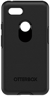 Black OtterBox Pixel 3 XL Symmetry Case Back