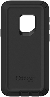 Black OtterBox Galaxy S9 Defender Case Back