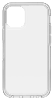Clear OtterBox iPhone 12 Pro Max Symmetry Case from the Back