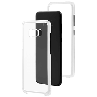Clear Case-Mate Naked Tough - Samsung Galaxy S8 Plus Case Angled View