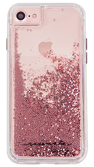 Rose Gold Case-Mate Waterfall - iPhone 6/6s/7/8 Case Back View