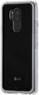 Angled Clear Case-Mate Naked Tough LG G7 Case
