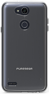 Clear PureGear Slim Shell LG X Power 3 Case Back