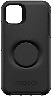 Black Otter + Pop Symmetry iPhone 11 Case Back