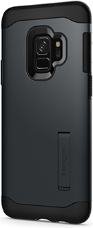Metal Slate Spigen Slim Armor Galaxy S9 Case Back