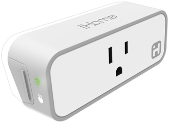White iHome iSP6 SmartPlug Side View