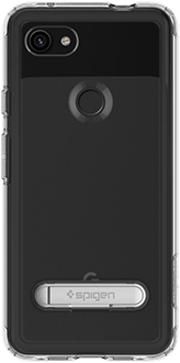 Clear Spigen Slim Armor Crystal Pixel 3a XL Case Back