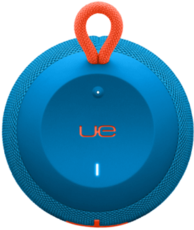 Subzero Blue Ultimate Ears Wonderboom Speaker Top Down View